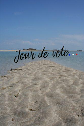 Jour de vote sur Chausey